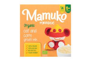 Крупы ассорти овсяно-кукурузные органические измельченные Mamuko к/у 240г
