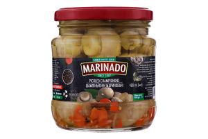 Шампиньоны маринованные целые Маринадо с/б 450г