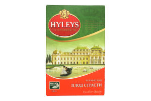 Чай зеленый Плод страсти Hyleys к/у 100г