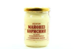 Майонез Корисний з оливковою олією на перепелиних 230г х21