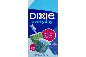 Dixie Everyday Bath Cups 3oz - 200 CT