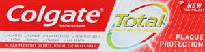 Паста зубная Colgate Total Plaque Protection