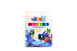 Набор фломастеров Rio 12 цветов к/у Cool for School