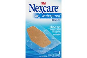 3M Nexcare Bandages Waterproof Knee & Elbow - 8 CT