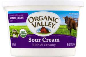 Organic Valley Sour Cream Rich & Creamy