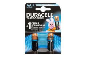 Батарейки AA LR 6-MN1500 Duracell 2шт