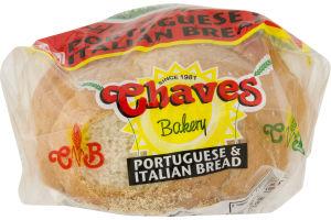Chaves Bakery Bread Portuguese & Italian
