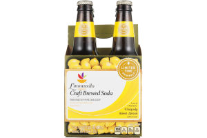 Ahold Limoncello Craft Brewed Soda - 4 CT