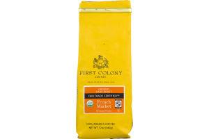 First Colony French Market Ground Dark Roast Coffee