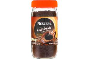 Nescafe Cafe de Olla Instant Coffee Beverage Cinnamon