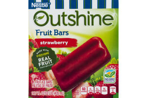 Nestle Outshine Fruit Bars Strawberry - 6 CT
