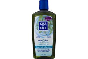 Kiss My Face Shower Gel Cold + Flu Eucalyptus & Menthol