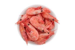 Креветки в панцирі 90/120+ Polar seafood в/м з/г кг