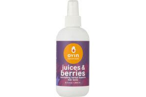 Oyin Handmade Nourishing Herbal Leave-In Hair Tonic Juices & Berries