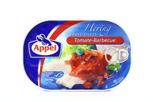 Сельдь филе в томатном креме барбекю Appel 200г