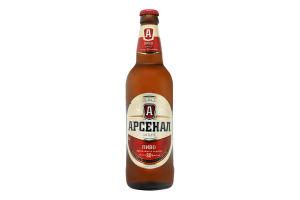 Пиво 0.5л 8% светлое пастеризованное Крепкое Арсенал бут