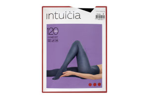 Колготки жіночі Intuicia Comfort Premium 120den №2 чорний