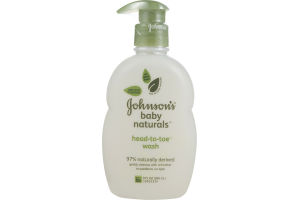 Johnson's Baby Naturals Head-to-Toe Wash