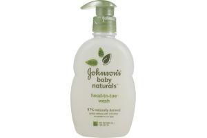 Johnson's Baby Naturals Head-to-Toe Wash