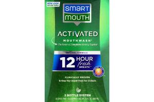 Smart Mouth Acitivated Mouthwash Original Formula Clean Mint