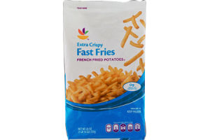 Ahold French Fried Potatoes Fast Fries Extra Crispy