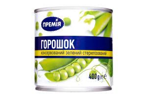 Горошек Премія зеленый консервированный