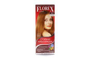 Крем-краска для волос Карамель №3.2 Florex Super