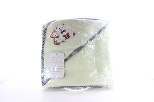 Полотенце с капюшоном с вышивкой Zastelli 75*75см