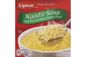 Lipton Soup Secrets Noodle Soup - 2 CT