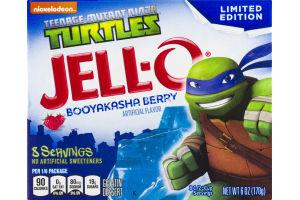 JELL-O Gelatin Dessert Teenage Mutant Ninja Turtles Booyakasha Berry
