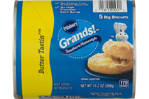 Pillsbury Grands! Southern Homestyle Big Biscuits Butter Tastin - 5 CT