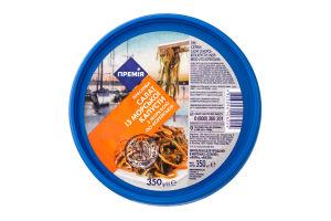 Салат Премія из морской капусты с морковкой