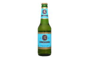 Пиво 0.33л 5.2% светлое Löwenbräu Original бут