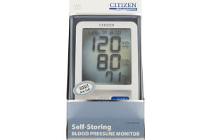 Citizen Self-Storing Blood Pressure Monitor