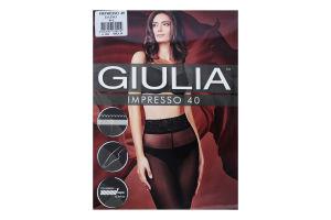 Колготки жіночі Giulia Impresso 40den 4-L daino