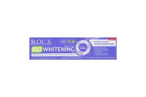 """З/п """"R.O.C.S. BIO Whitening Безопасное отбеливание"""" 94 гр"""