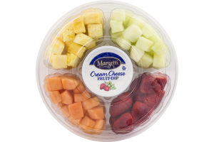 Del Monte Fruit Tray Large with Marzetti Cream Cheese Fruit-Dip