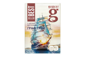 Чай черный листовой с бергамотом Earl Grey Bestseller Gr@ce к/у 100г