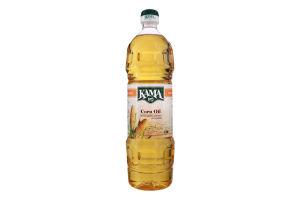 Масло кукурузное рафинированное дезодорированное Кама п/бут 1л