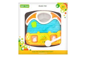 Игрушка музыкальная для детей от 9мес №8627 Baby Team 1шт