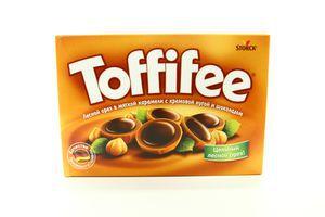 Конфеты Toffife лесн орех/карамель/шоколад 400г