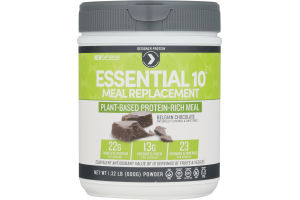 Designer Protein Essential 10 Meal Replacement Plant-Based Protein-Rich Meal Chocolate