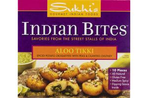Sukhi's Gourmet Indian Foods Indian Bites Aloo Tikki - 10 CT