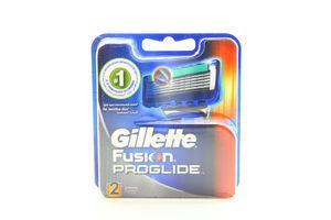 Картридж сменный для станка мужской Fusion ProGlide Gillette 2шт