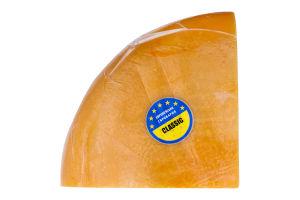 Сыр 55% твердый Гауда Classic Європейська сироварня кг