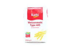 Мука пшеничная Weizenmehl Type 405 Kathi м/у 1кг