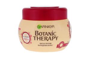 Маска для волос против выпадения Касторовое масло и миндаль Botanic Therapy Garnier 300мл