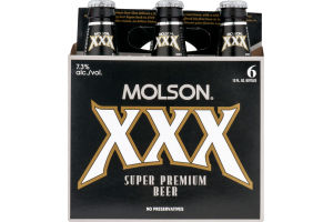 Molson XXX Super Premium Beer