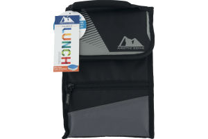 Arctic Zone Insulated Lunch Side Loading Hi Top Power Pack Black