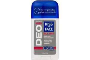 Kiss My Face All Day Natural Man DEO Invigorating Aqua Scent